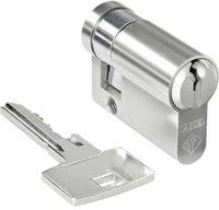 Merten Profilhalbzylinder MEG3985-0001 mit Schlüsselabzug