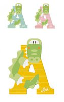Sevi Tierbuchstabe Alligator A (81601)