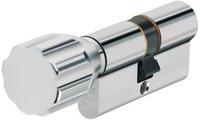 Abus EC550 Knaufzylinder Z55/K50 mm Wendeschlüssel mit 3 Schlüssel