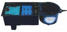 AquaForte Vortec Mehrkammerfilter Komplett-Set (20000l/h)