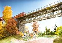 Noch Stahlbrücke Bausatz (62810)
