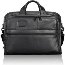 Tumi Alpha Leather Aktentasche 42 cm (96108)