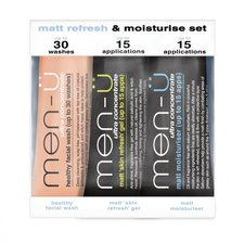 men-ü Matt Refresh & Moisturise Set (3x15ml)