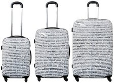 Monopol City 4-Rollen-Trolley-Set 3-tlg. 57/67/77 cm