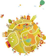 Lilliputiens Bauernhof Sticker