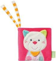 Fehn Stripes & Dots - Soft-Bilderbuch Katze