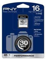 PNY SDHC Performance 16GB Class 10 UHS-I (SD16G10PER-EF)