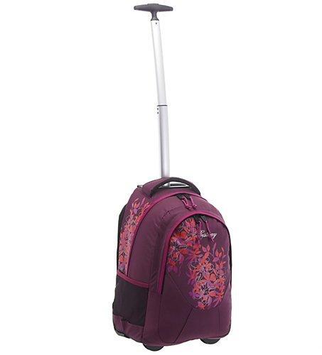BestWay Taschen Trolley Rucksack purple/pink flowers (40028-1922)