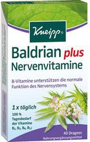 Kneipp Baldrian plus Nervenvitamine Dragees (40 Stk.)