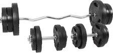 Gorilla Sports 70 kg Gripper Kunststoff Sz-Curlset