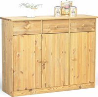 Steens Furniture Ltd Mario 025/30 Sideboard gelaugt geölt 3 Türen 3 Schubladen