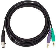 AKG AKG MK HS PC - Kabel Mini-XLR auf 2x Stereo-Mini-Klinke (3m)