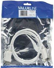 Valueline VLMP37000 DisplayPort Kabel St-St weiß (1,0m)