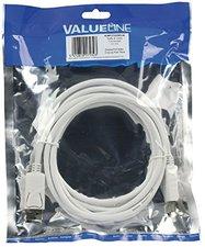 Valueline VLMP37000 DisplayPort Kabel St-St weiß (3,0m)