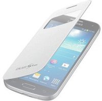 Samsung S-View Cover Weiß für Galaxy S4 Mini