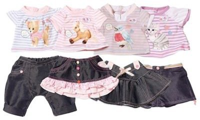 Baby Born Classic Outfit mit Tiermotiv (817612)