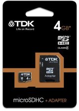 TDK microSDHC Class 4