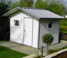 NWS Gartenhaus Satteldach 250 x 400 cm (Stahl)