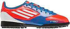 Adidas F5 TRX TF J infrared/bright blue/running white