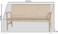 Grasekamp Gartenbankhülle 210 x 55 x 80 cm