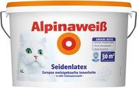 Alpina Farben Alpinaweiß Seidenlatex 4 Liter