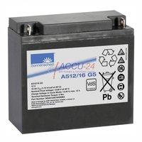 Exide A512/16 G5 Bleiakkus-Gel Dryfit 12V 16 Ah