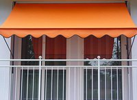 Angerer Klemm-Markise (200 x 150 cm) uni-orange