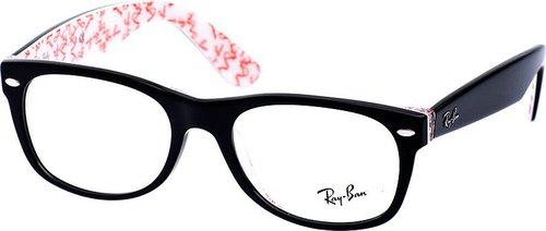 Ray Ban New Wayfarer RX5184 5014 (black/white insert)