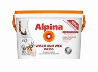 Alpina Farben Wisch und weg Weiss 10 l