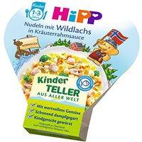 Hipp Kinderteller Nudeln mit Wildlachs in Kräuterrahmsauce (250 g)
