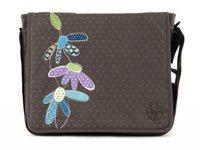 Lässig Messenger Bag Casual Flower Slate