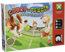 Moonster Games Court de tennis - Mutltiplication (französisch)