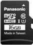 Panasonic microSDHC Gold 16GB Class 10 UHS-I (RP-SMGA16GAK)