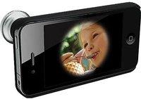 Rollei 0.28x Tele-Objektivvorsatz Fisheye für iPhone 4/4S