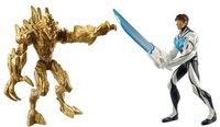 Mattel Max Steel vs. Elementor Erde
