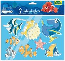 Lena Disney Findet Nemo - 2 Zeichenschablonen