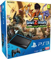 Sony Playstation 3 (PS3) Super slim 12GB + InviZimals: Das verlorene Königreich