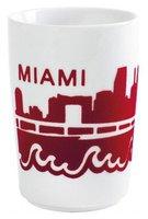 Kahla Five Senses Maxi Becher 0,35 Ltr. Skyline Miami