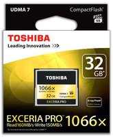 Toshiba Exceria Pro CompactFlash 32GB 1066x (THNCF032GSGI)