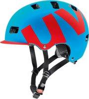 Uvex HLMT 5 Bike Pro cyan-rot matt