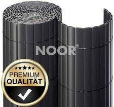 Noor Sichtschutzmatte PVC 180 x 300 cm anthrazit