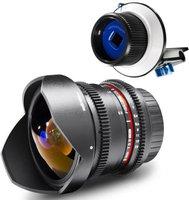 Walimex pro 8mm 3.8 Fisheye II VDSLR [Olympus Four Thirds]