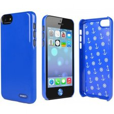 Cygnett Form Backcover blau (iPhone 5C)
