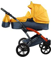 Knorr-Baby Voletto Sport Grau-Orange