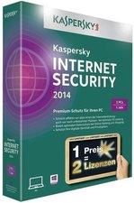 Kaspersky Internet Security 2014 (5 User) (2 Jahre) (Win) (DE)
