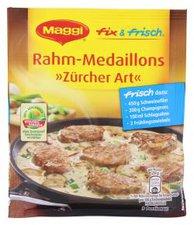 Maggi fix & frisch: Rahm-Medaillons Zürcher Art