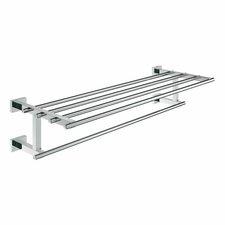 Grohe Essentials Cube Badetuchhalter mit Ablage