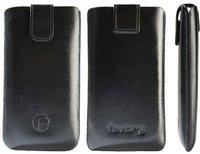 Favory Ledertasche schwarz (Samsung Galaxy Note 3)