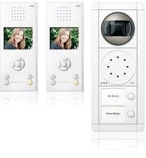 Ritto RGE1892470 Portier Video-Set, 2 WE weiß/weiß