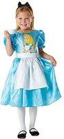 Rubies Disney Princess Kostüm Alice im Wunderland Klassisch mit Aufdruck